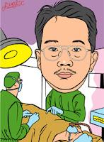 Surgeon caricature