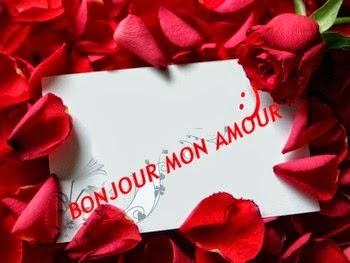 Message d'amour bonjour