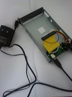 Caja para introducir disco - Vacía