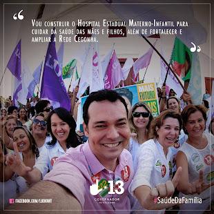 DOUTOR LÚDIO CABRAL junto com a gente na Caravana Da Cidadania!