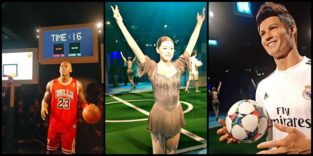 Sports championship: Michael Jordan, Yuna Kim and Ronaldo at Grevin Seoul | www.meheartseoul.blogspot.sg
