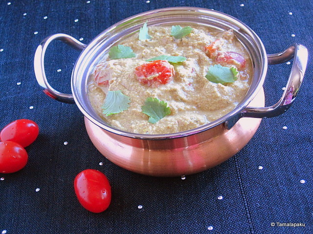 Tomato Masala in Tofu Gravy