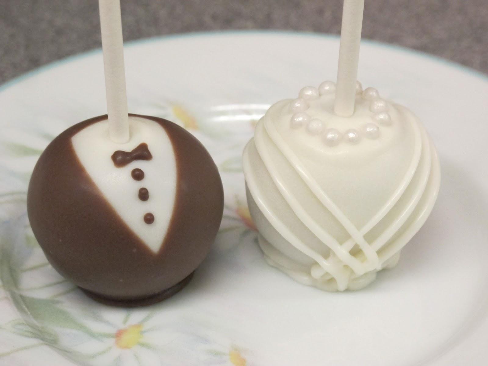 Wedding Cake Pops Fat Sam S Blog