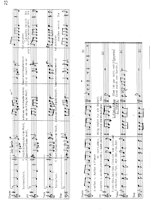 Score (piano, choir)