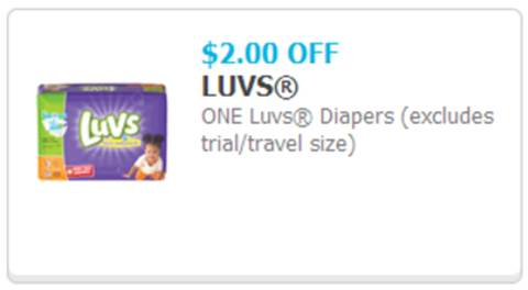 Save $2 on Luvs Diapers!