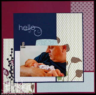 Pocketful of Posies Scrapbook Page