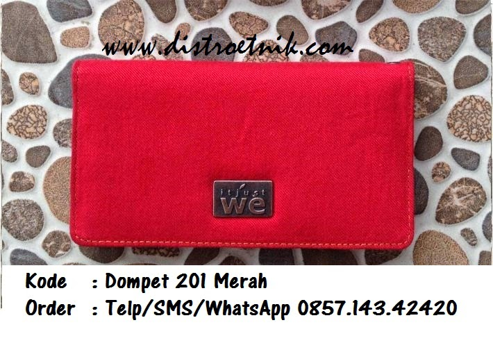 dompet jeans it just we wt 201 merah