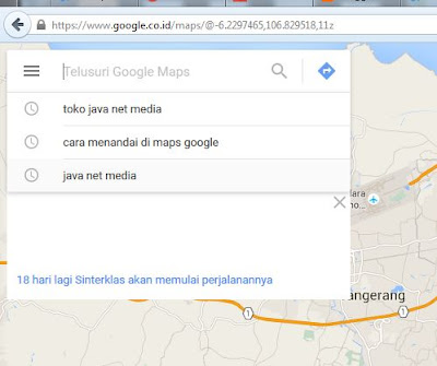 Cara Mudah Menandai Alamat Pada Google Maps