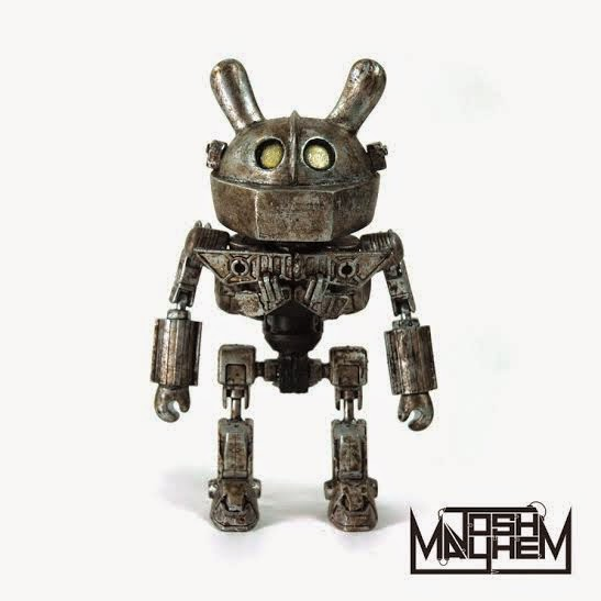 "The Iron Giant Custom 3"" Dunny by Josh Mayhem"
