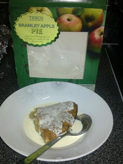 Tesco bramley apple pie