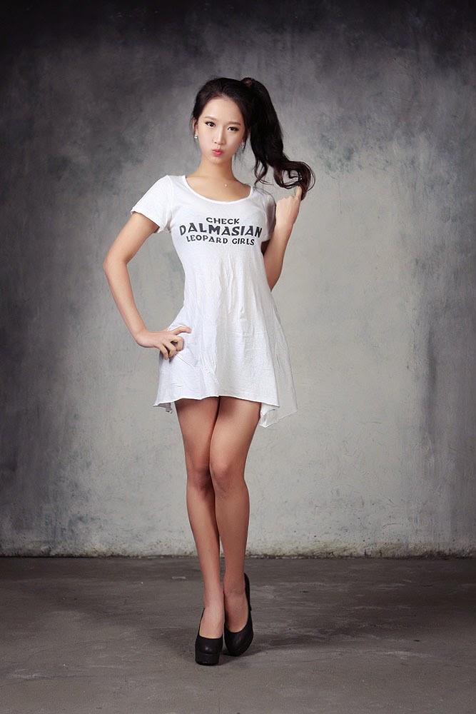 2 Han Se Rin - Debut Studio Sets - very cute asian girl-girlcute4u.blogspot.com