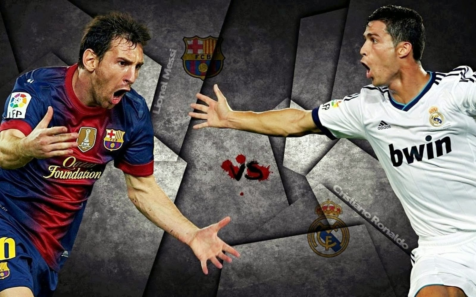 Real vs Barcelona Liga 2014