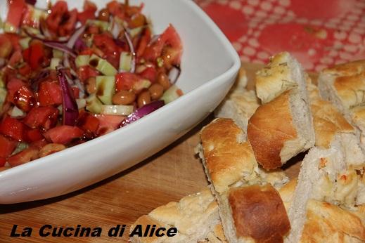 La cucina di alice insalata di fagioli - La cucina di alice ...