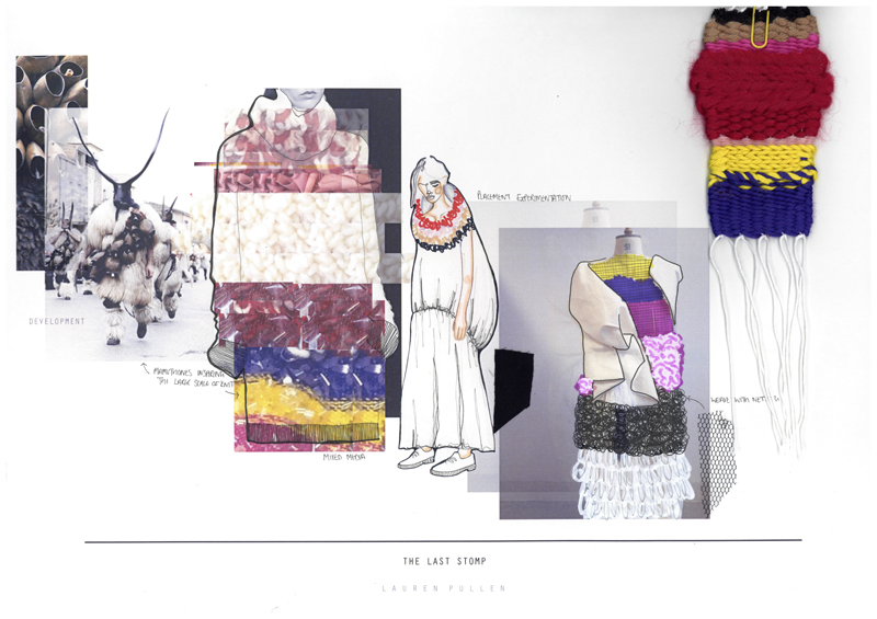 Lauren Pullen Graduate Fashion Week 2015 Portfolio