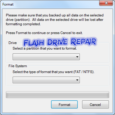 how to repair flash drive