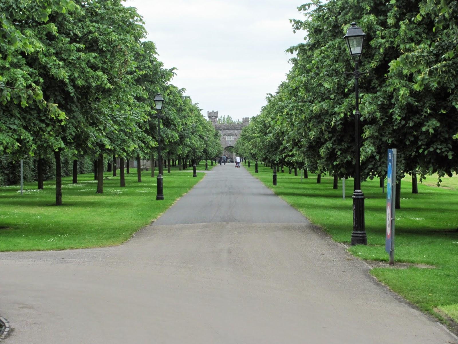 Grand Boulevard of Royal Hospital Kilmainham Dublin
