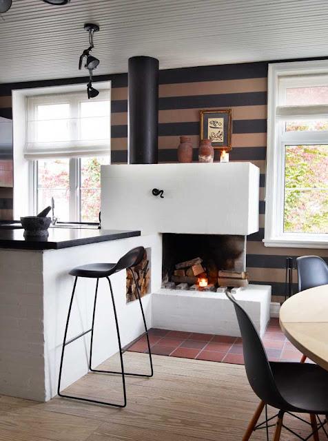 Hyacinth's cottage home: moderne igen med tapet...?