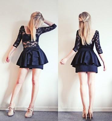 foto modelo novo vestido de renda