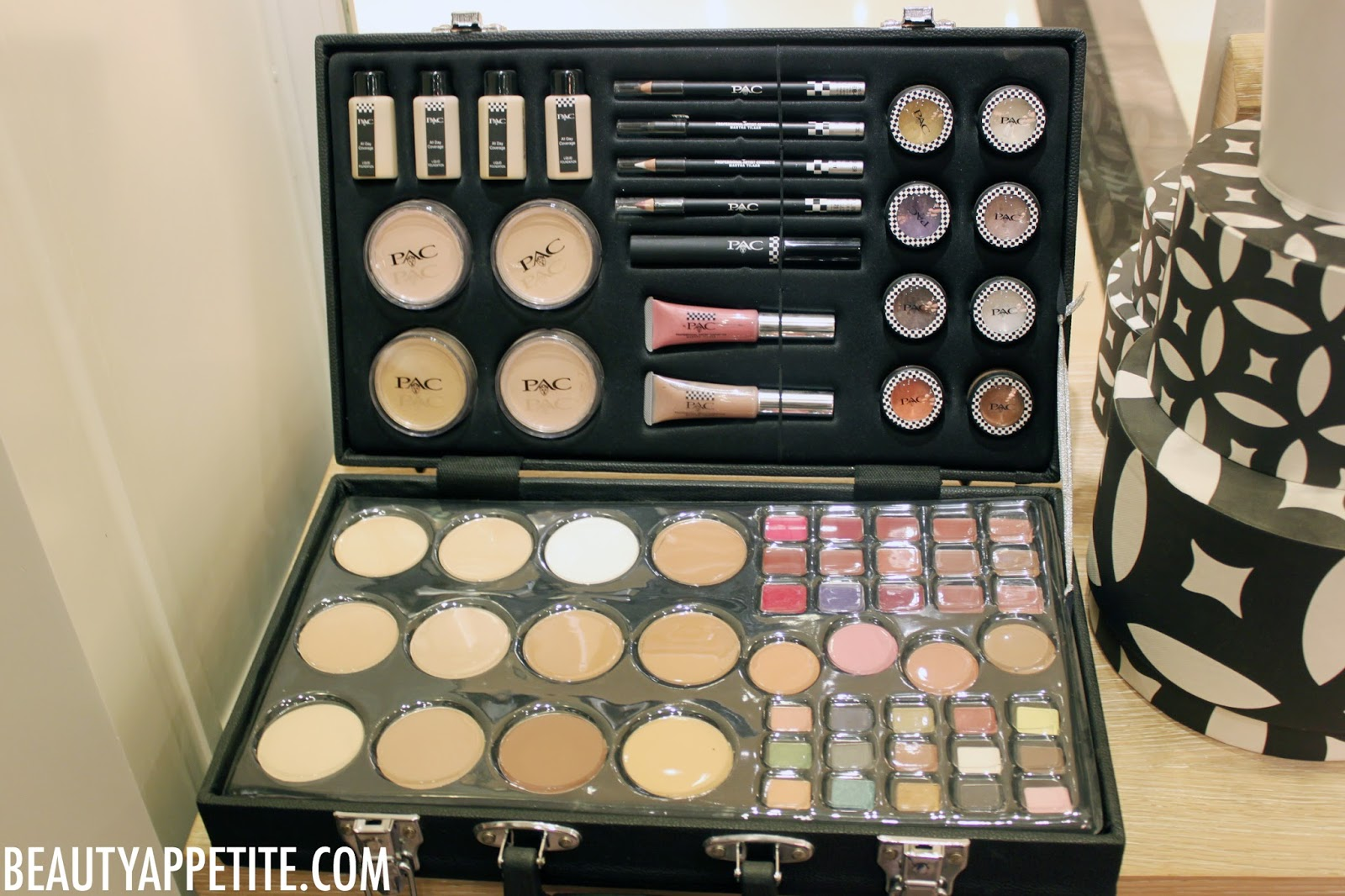 a Suitcase Full of Makeup