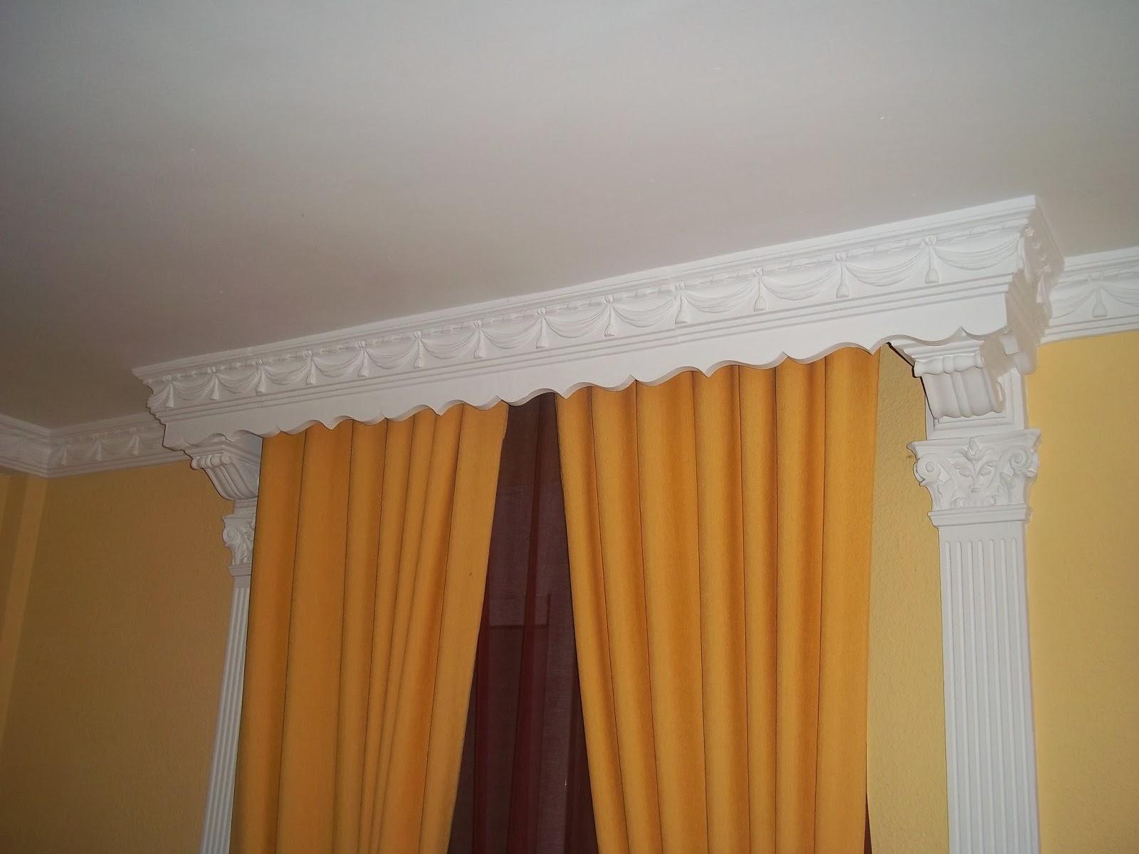 Reformas y construcciones enrique guerrero cortineros for Molduras para techo