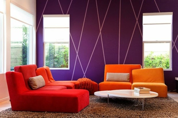 How To Paint Stripes On A Wall Striped Wall Paint Ideas. Bedroom Paint Ideas Stripes   Interior Design