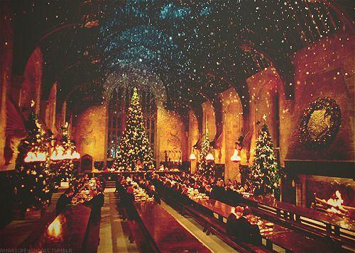 Otro punto de vista. Hogwarts+christmas
