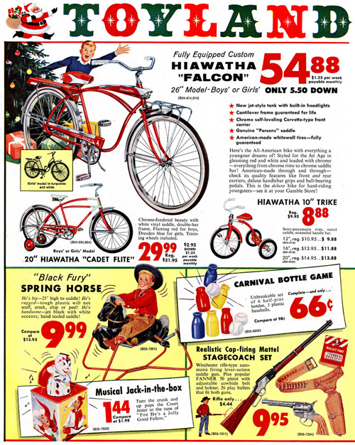 Retro Christmas Toy : Vintage everyday christmas ads from s