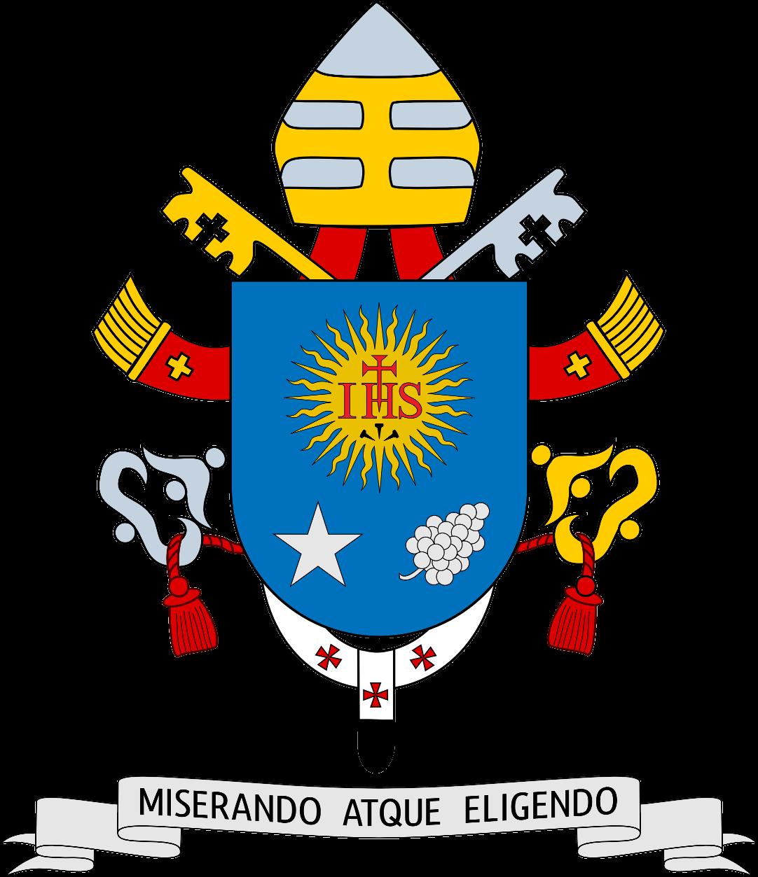 неофіційний герб Папи Франциска