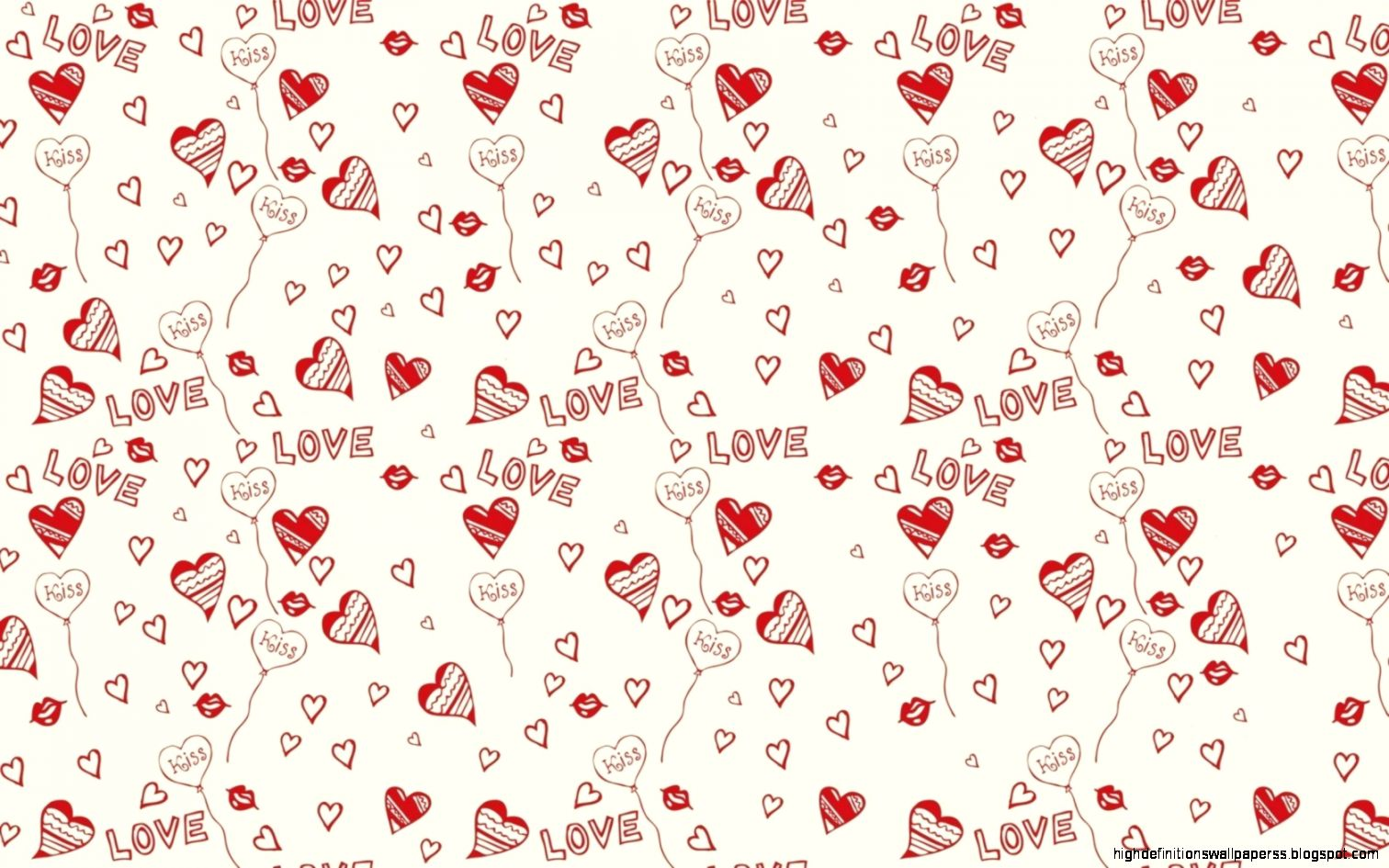 Love Tree I You Vector Valentine Art On Gradient Wallpaper