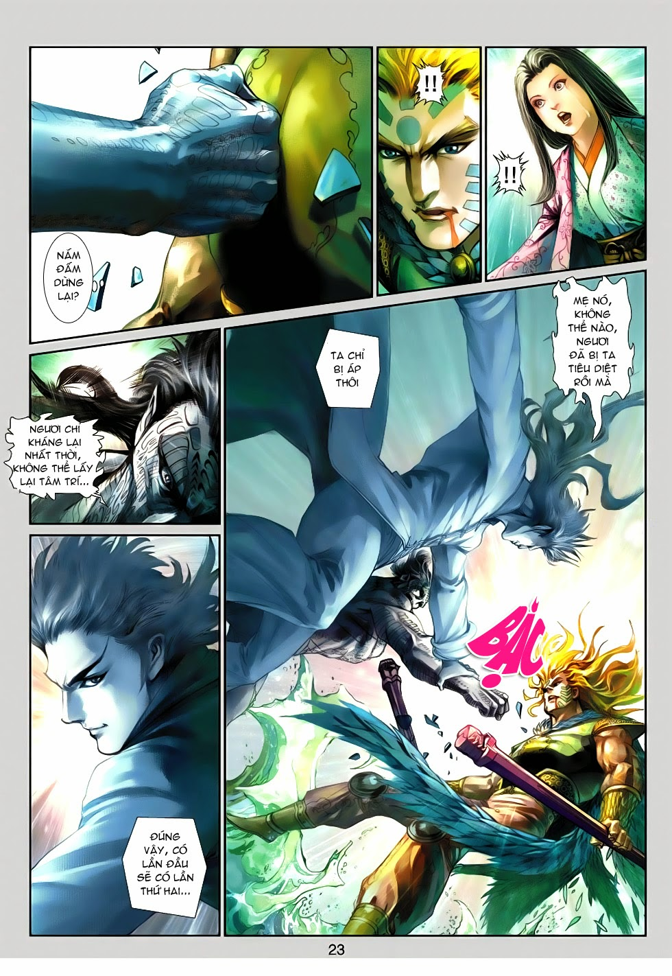 Thần Binh Tiền Truyện 4 - Huyền Thiên Tà Đế chap 13 - Trang 23
