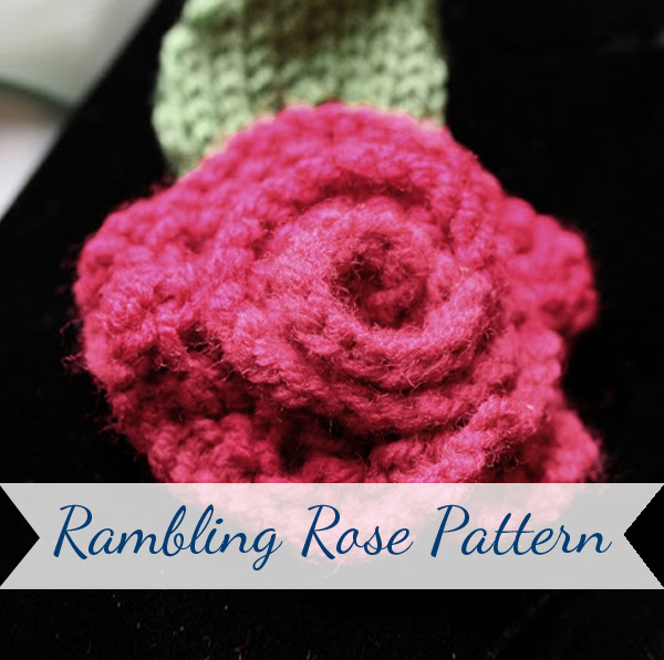 Rambling Rose Free Knitting Pattern