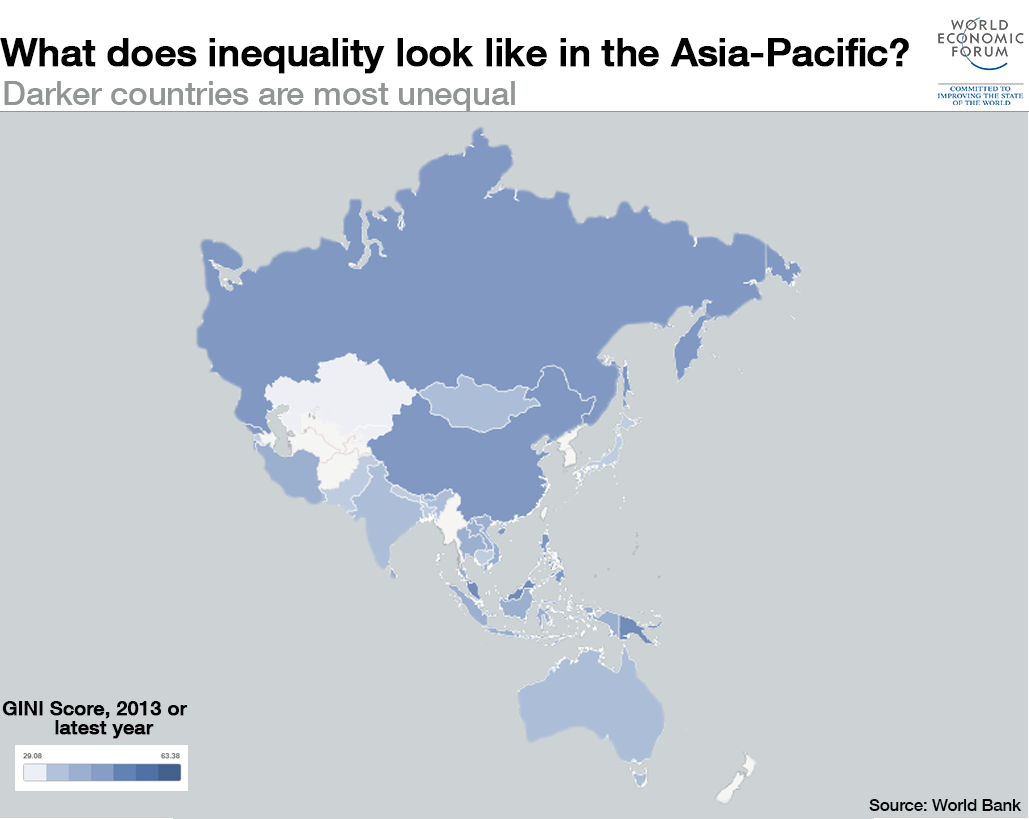 What does inequality look like around the World: Asia?