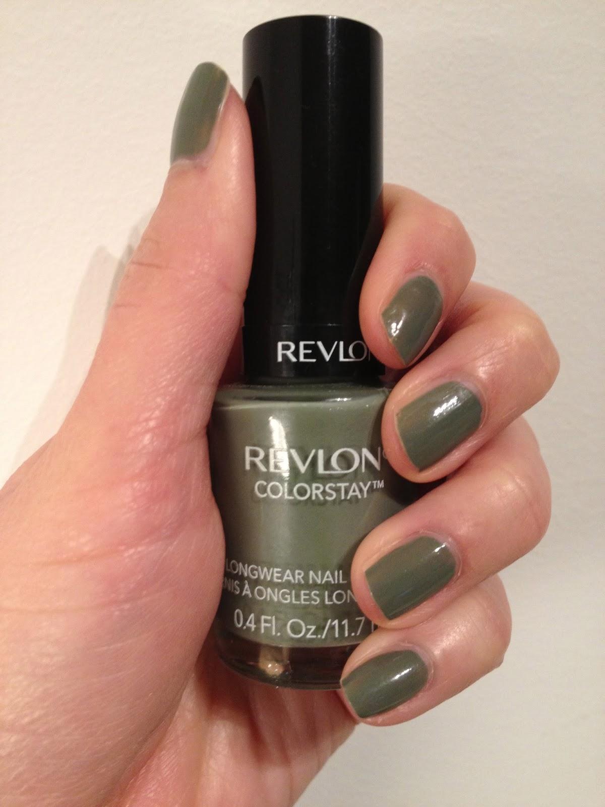 Your Daily Break: Polish of the Week: Revlon Colorstay Spanish Moss