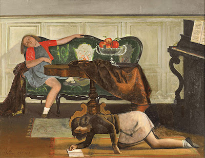 Balthus - Le salon 1941-43.