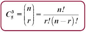 kombinasi n unsur berlainan jika disusun sebanyak r unsur