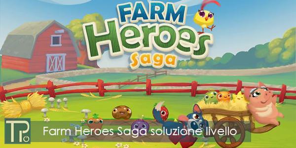 Come superare Farm Heroes Saga livello 20