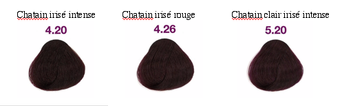bien tre by laeti boop decryptage du nuancier des colorations pour cheveux. Black Bedroom Furniture Sets. Home Design Ideas