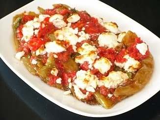 Traditional Greek Peppers and Feta Cheese Recipe