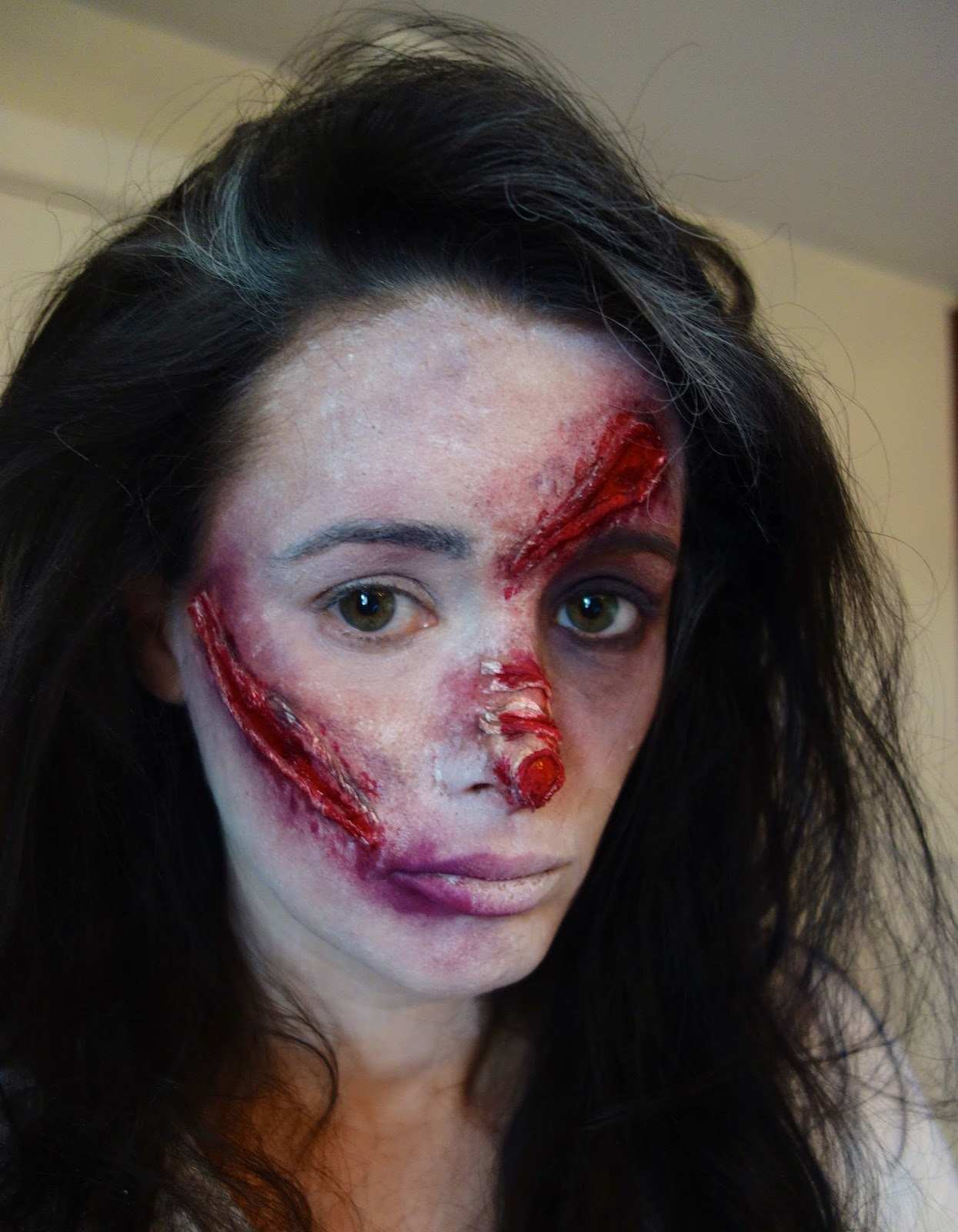 annette o'brien : how to: halloween makeup
