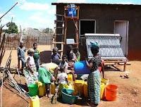 energia solar agua