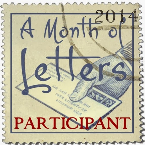 A Month of Letters 2014