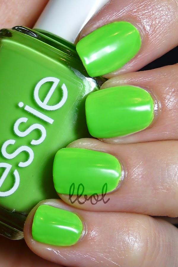 Essie Summer Neon 2014 Vices Versa Swatch
