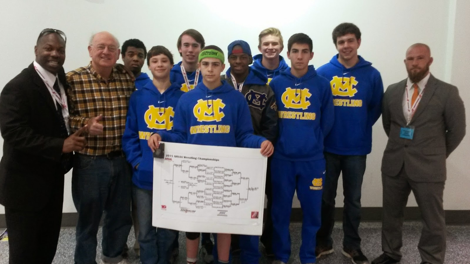 Catholic's Van Alst Claims Fourth Consecutive Wrestling State Championship 3