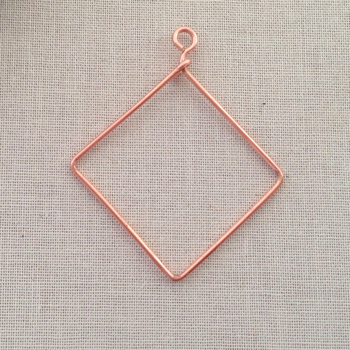 Lisa Yang\'s Jewelry Blog: How to Make a Diamond Shape Wire Frame For ...