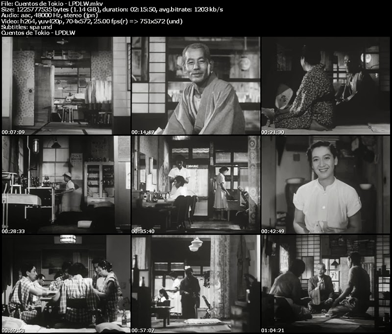 Cuentos de Tokio (1953) - Yasujiro Ozu [Subtitulada]