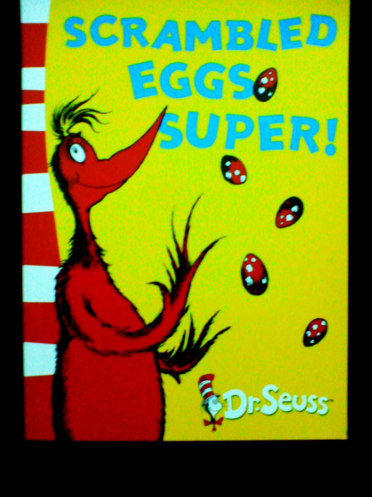 CHILDREN BOOKS FOR YOU: Dr.Seuss-Scrambled Eggs Super! [RM12]