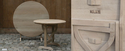 tables and chairs by malvini in antwerp