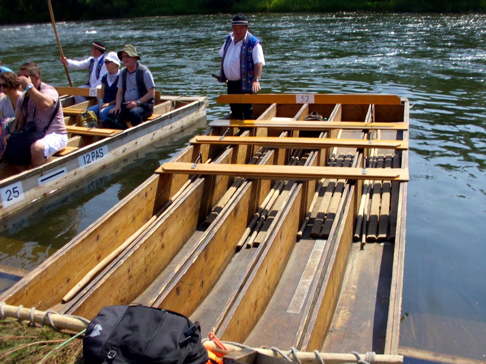 Spływ Dunajcem - początek