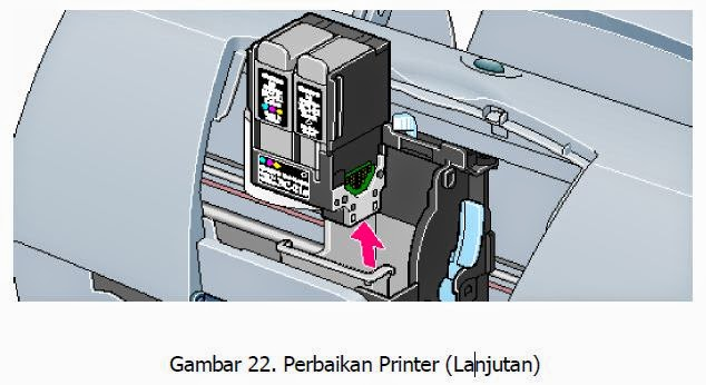 perbaikan printer mudah 3