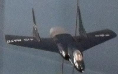 Vought F7U Cutlass model